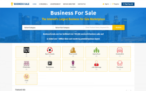 Readymade Business Buy & Sell Script