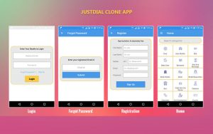 Justdial Clone Android App